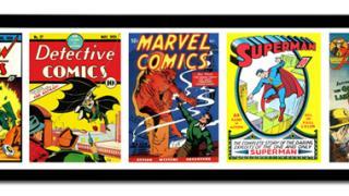 framed comics