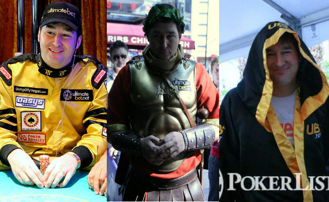 Phil Hellmuth costumes