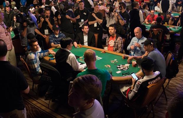 WSOP Main Event Bubble 4