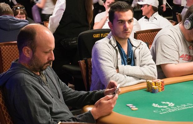 WSOP Main Event Bubble Tony Lategano