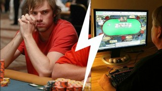 online vs live poker players 1 0