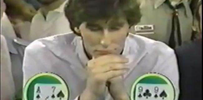 Phil Hellmuth WSOP Main Event 1989
