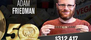 WSOP 2019 Adam Friedman