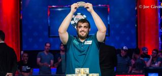 Scott Blumstein WSOP 2017 Champion