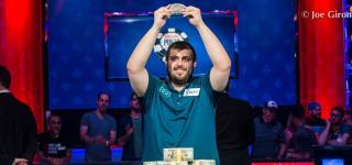Scott Blumstein WSOP 2017 Champion