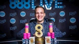 888Live Main Event Winner