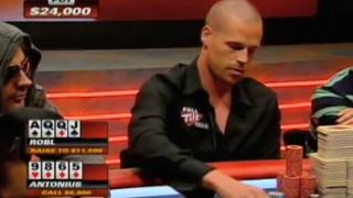 Patrik Antonius vs Andrew Robl beim Aussie Millions Cash Game