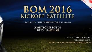 Battle of Malta KickOff Satellite