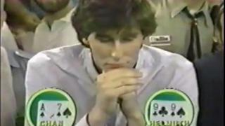 Phil Hellmuth WSOP Main Event 1989