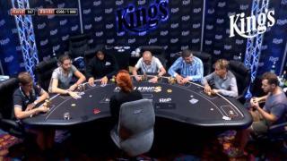 Die Besetzung der €500/€1.000 No-Limit Hold'em Partie