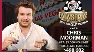Chris Moorman WSOP 2017