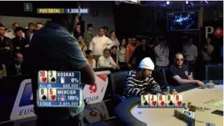 Jason Mercier vs. Eric Kostas