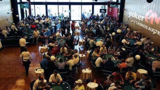 Der Turniersaal der Poker EM Velden