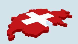 Schweiz Landkarte