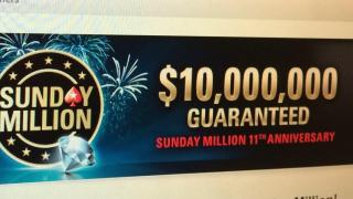 Sunday Million 11th anniv