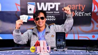 partypoker WPT National Main Event Champion Leo Tran GER