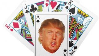 trump poker cards