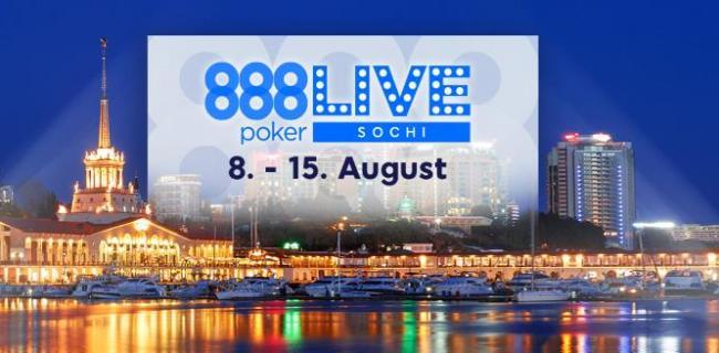 888 Poker Live Sochi