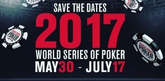 WSOP 2017 Schedule terminplan z788768678