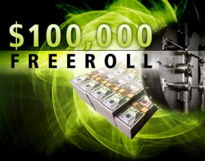 Bei manchen Freerolls kann man um enorme Beträge spielen ohne Geld zu investieren