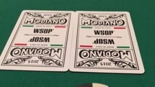 Die umstrittenen Modiano WSOP Karten