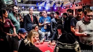 Die Bubble beim Main Event der WSOP Europe in Berlin.