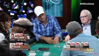 Bellandes decision high stakes Aria Poker