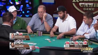 Salomon decarolis aria poker high stakes cash game