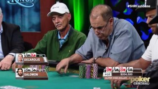 al Decarolis aria high stakes cash game