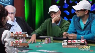 klein moves aria poker