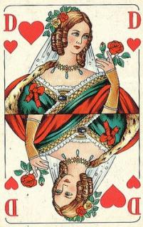 546fbd7a4994b5e76d22a1b523fa2977 vintage playing cards heart cards