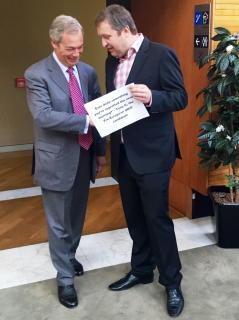 Nigel Farage und Tony G