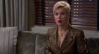 """Jennifer Tilly in """"Der Dummschwätzer""""."""