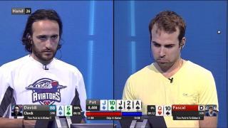 Davidi Kitai gegen Pascal Lefrancois - 0:9