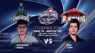 Mustapha Kanit gegen Jake Cody - 9:0