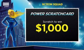 power scratch card