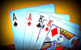 Omaha mit vier Karten