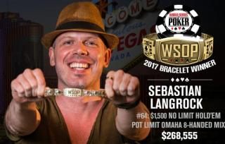 Sebastian Langrock WSOP 2017 Gewinner