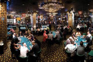 crown casino poker floor