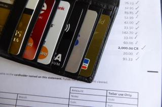 Credit card payments.