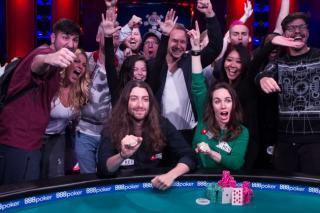 Team Livgor celebrates 2017 WSOP