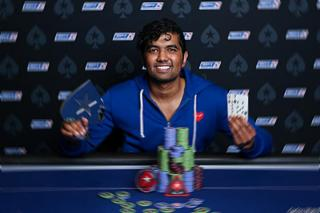 Pratyush Buddiga Winner 33 Event nl 25K EPT 13 Barcelona 4313