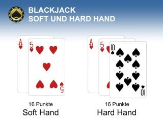 Blackjack Soft Hand Hard Hand