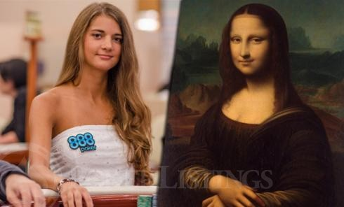Sofia Løvgren und Mona Lisa
