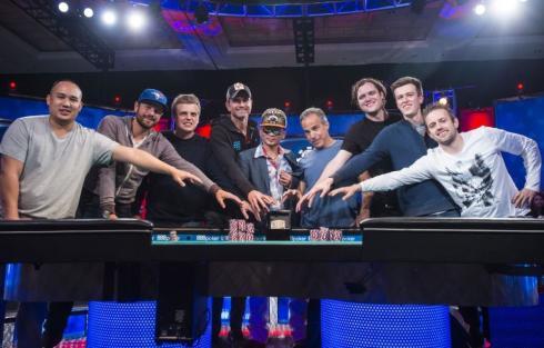 2016 WSOP November Nine 2016 WSOP EV68 Main Event Day 7 Giron 8JG5335