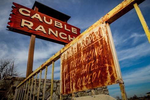 cauble ranch, Eingangsbereich