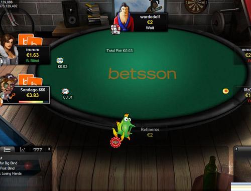 Betsson Com Poker