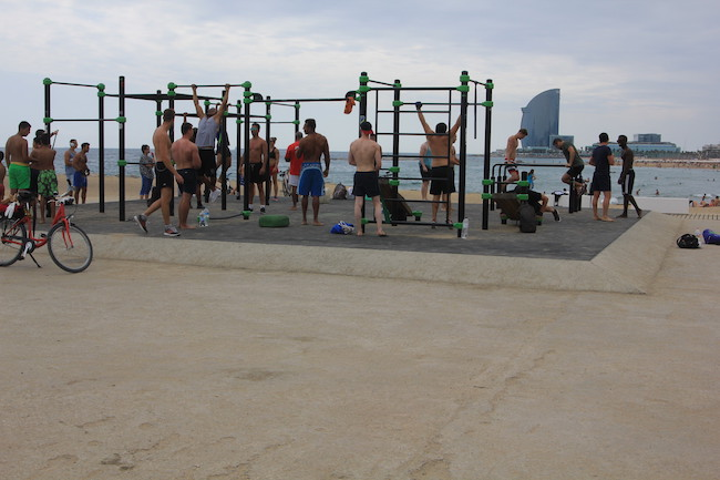 open air gym