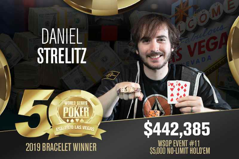 Daniel Strelitz (US) - Sieger Event #11 WSOP 2019