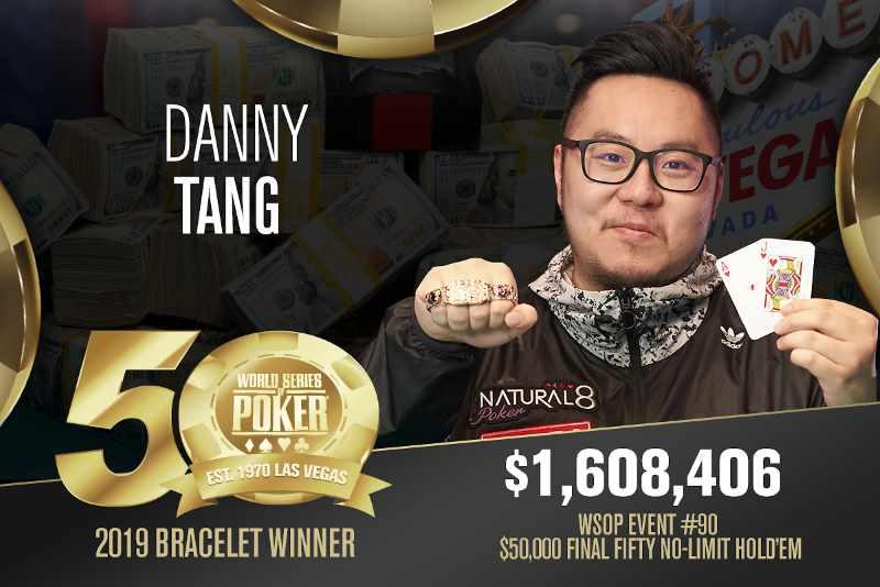 Danny Tang (HK) - Sieger Event #90 WSOP 2019